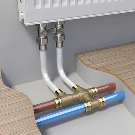Трубы для водопровода рехау